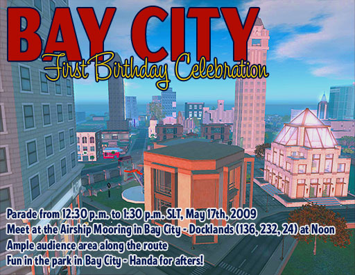 Bay City's First Anniversary Celebration