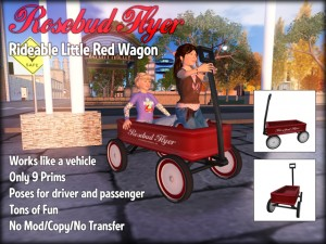 Rosebud Flyer Wagon