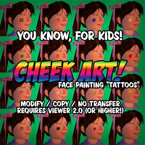 Cheek Art Ad