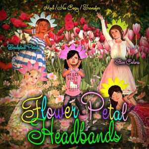 Flower Petal headbands