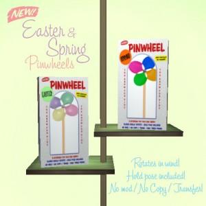 New Easter & Spring Pinwheels