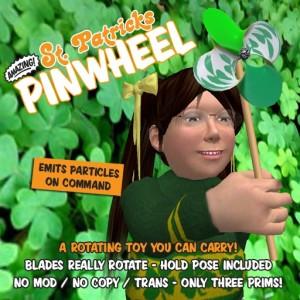 St. Patrick's Pinwheel
