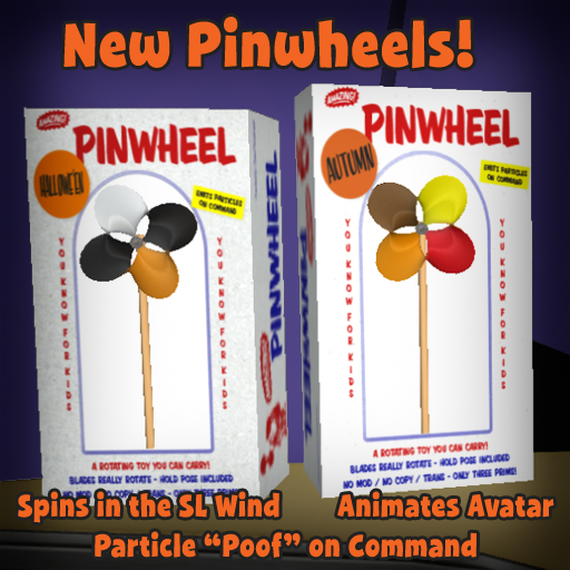 New Autumn Pinwheels