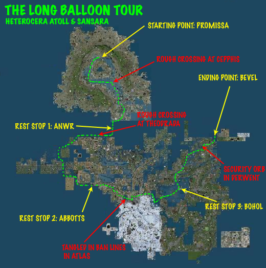The Long Balloon Tour