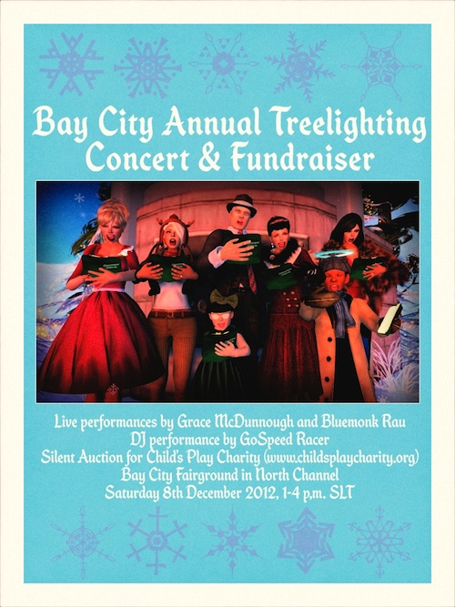 Bay City Tree Lighting Poster