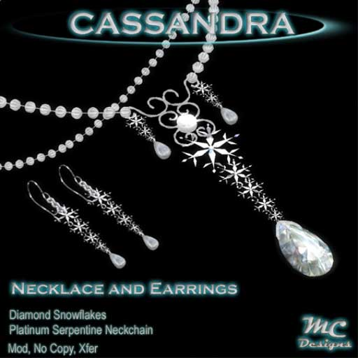 Cassandra Jewelry Set
