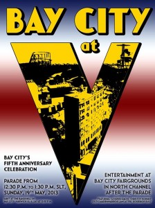 Bay City 5th anniversary poster